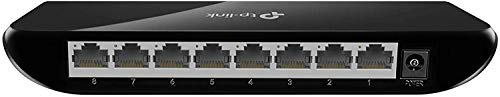 TP-Link 8 Port Gigabit Ethernet Network Switch | Ethernet Splitter | Plug-and-Play | Traffic Optimization | Unmanaged (TL-SG1008D)