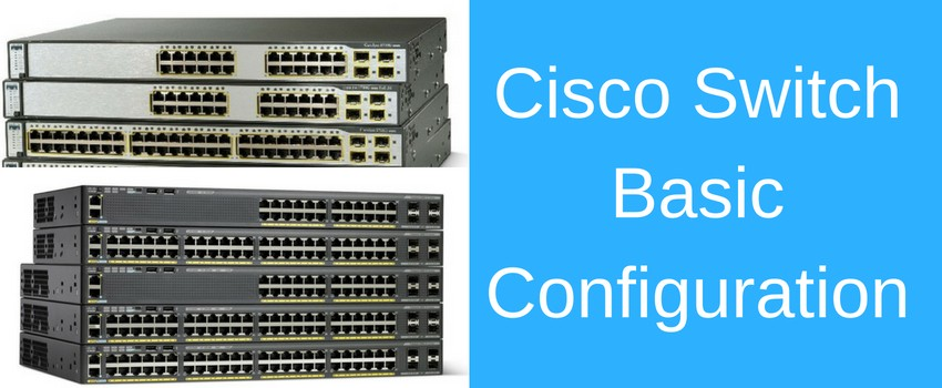 Basic Cisco Switch Configuration Example in 10 Steps