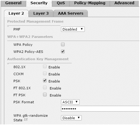 WPA2-Personal-WLC