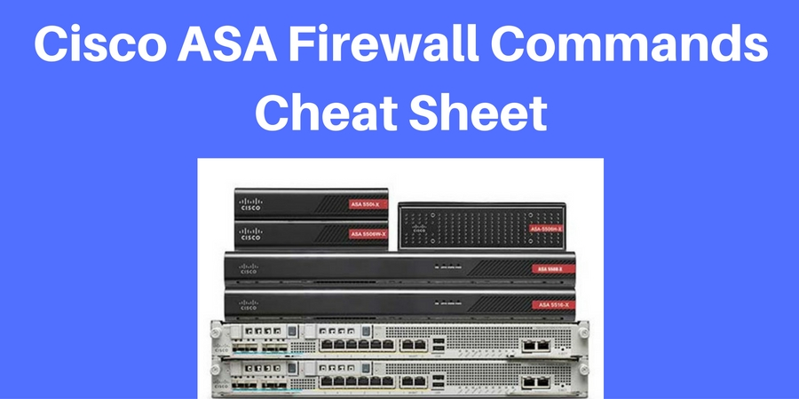 Cisco ASA Commands Cheat Sheet PDF Download