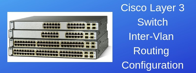 layer 3 routing cisco switch