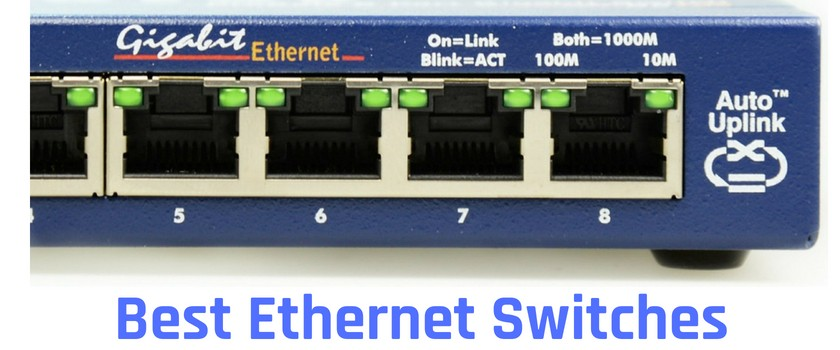 what are the top gigabit ethernet network switches for home, office and business