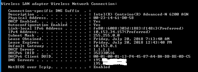 Windows IP Commands - ipconfig-nslookup-netstat-tracert