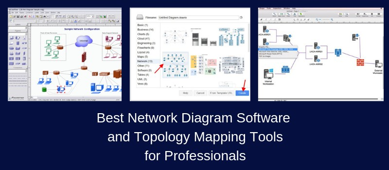 15 Best Network Diagram Software Topology Mapper Tools Free Paid