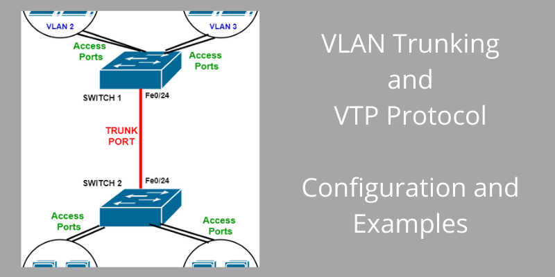 vtp and vlan trunks