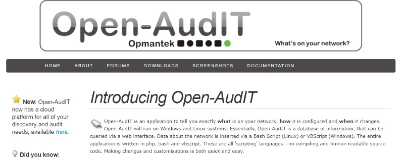 open audit