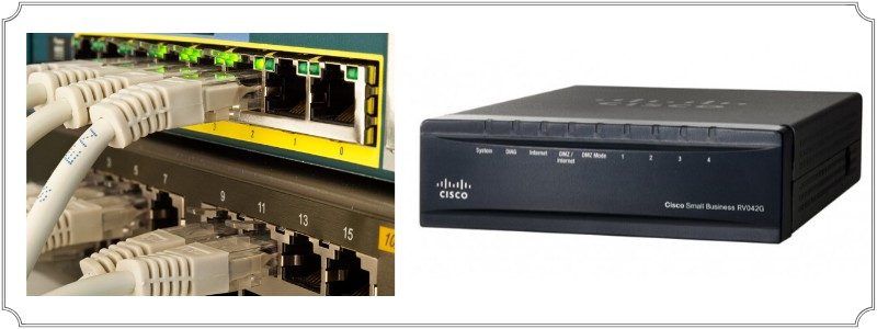 l3 switch and router comparison
