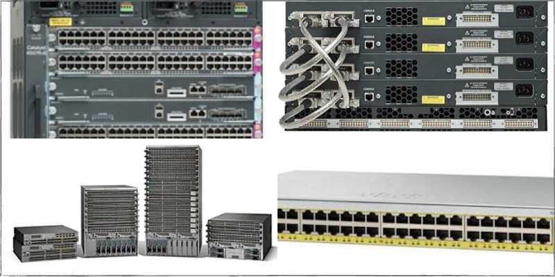 various types of network switches
