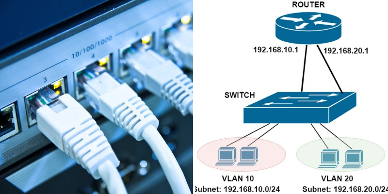 vlan and subnets in networks